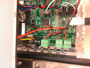 Photo: So _that_ is why they used a right angle connector. The 39532-2002 fits fine, but is pointed at an awkward angle.