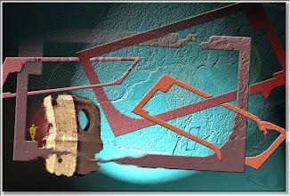 Photo: 2004 02 14 - R 03 09 17 435 w - D 038 - Fluzz im Rahmen des Bunkers