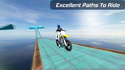 Bike Racing in sky 3D  screenshots 9
