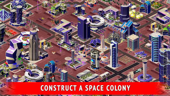 Space City: building game - náhled