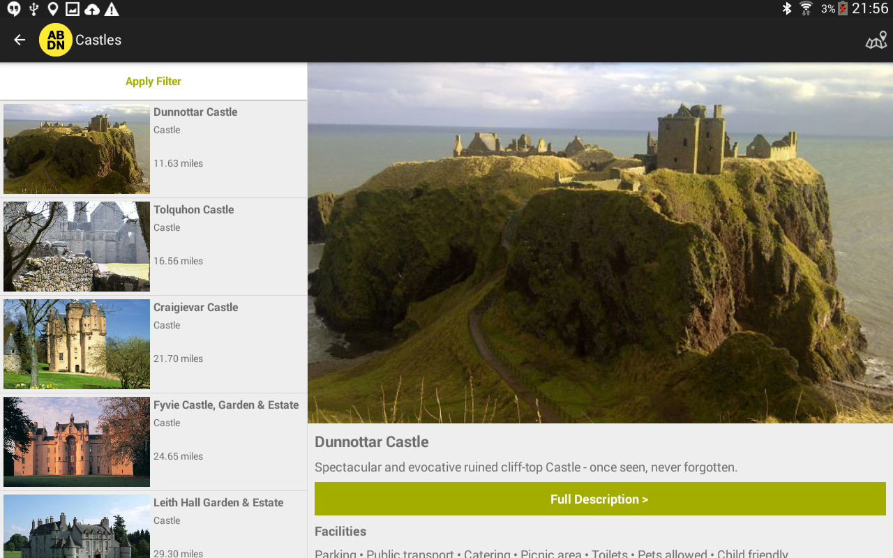 VisitABDN- screenshot