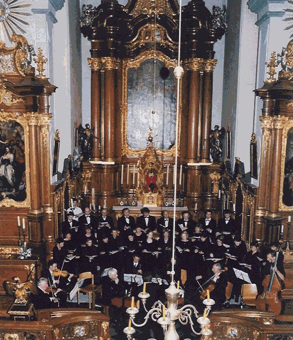 Photo: Konzert  Theresienkirche, Aachen / 02.12.2000