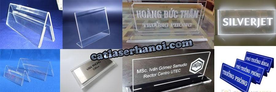 Làm bảng tên mica giá rẻ tại Hà Nội. Hotline: 0961.212.830