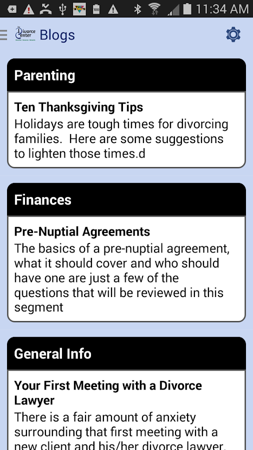 The Divorce Center- screenshot
