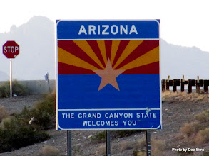 Photo: (Year 3) Day 40 - Now in the State of Arizona #2