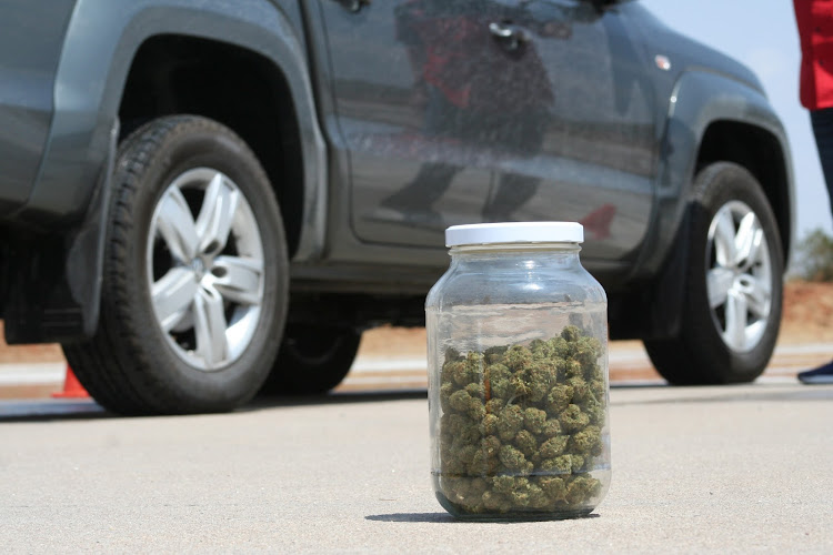 Drivers took to the skidpan after smoking light and heavy doses of cannabis. Picture: DENIS DROPPA