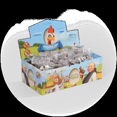 Chocolat Douzaine de Petites poules La Petite Poule des Pères Trappistes