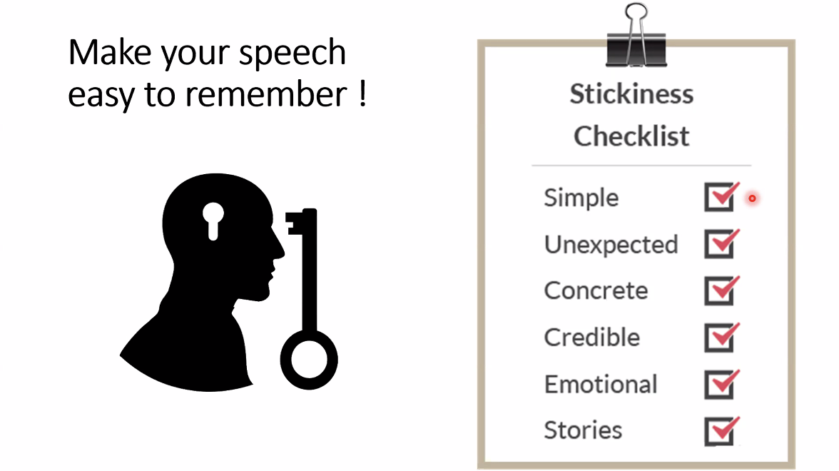 Six principles of story stickiness