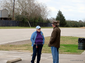 Photo: Mary Lou Pasley and Doug Blodgett     2014-0104 RPW