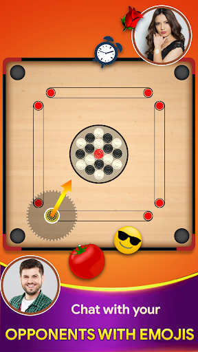 Carrom board game - Carrom online multiplayer 16 screenshots 3