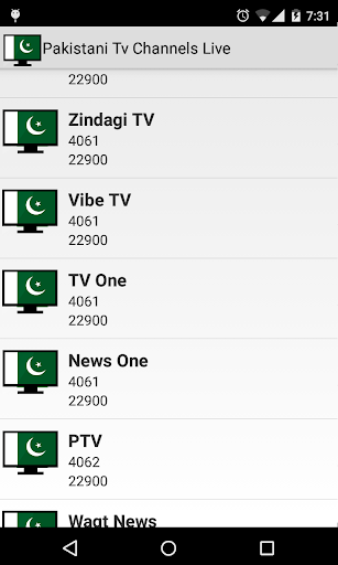 Pakistani Tv Channels Live 1.9 screenshots 5
