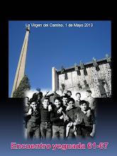 Photo: Cartel que adornó la Casa de Ejercicios Impresión Manolo Centeno Diseño Josemari Cortés