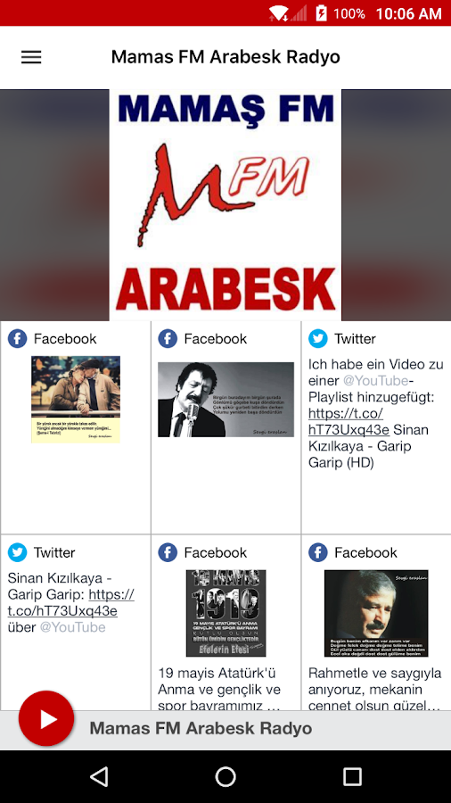 Mamas FM Arabesk Radyo- screenshot