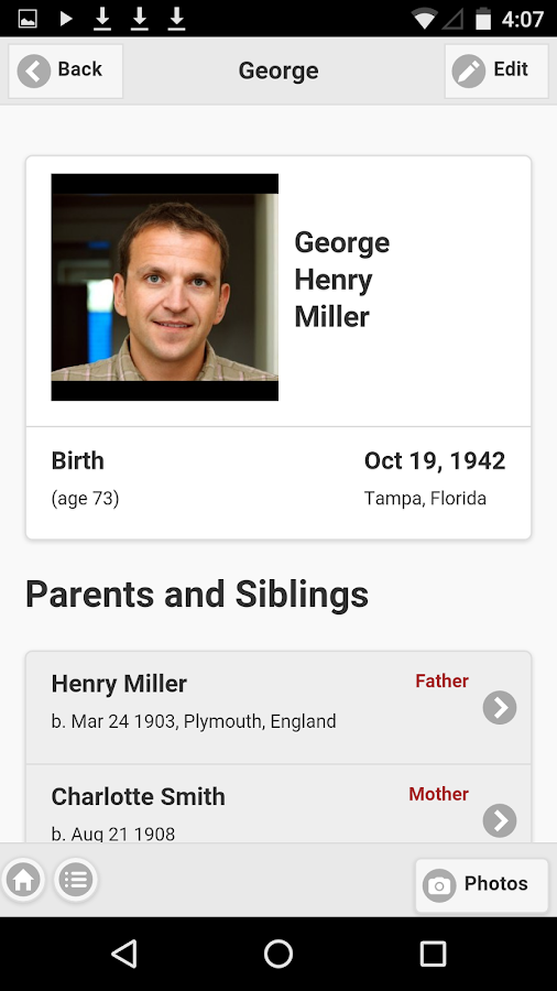 Family Tree - TribalPages- screenshot