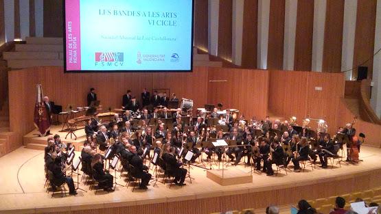 """La FSMCV celebra el segundo concierto del ciclo """"Bandes a Les Arts"""""""