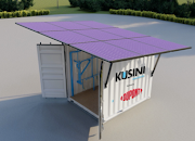 Kusini Water's solar-powered water filtration system