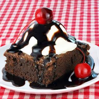 Chili's Chocolate Brownie Sunday.