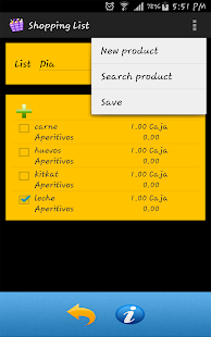 shopping list - new free - náhled