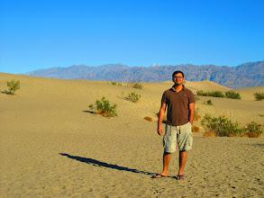Photo: Mesquite Dunes in Death Valley