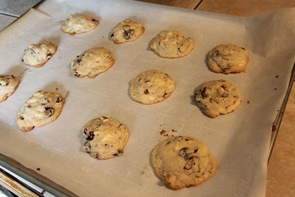 Bake from 9 – 11 minutes or until lightly browned.