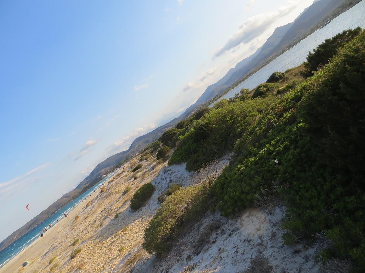Горизонт...завален! Вид дюны пляжа Ла Чинта