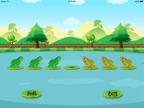 Frog Jump Puzzle