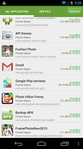 Backup Apk Share Apk