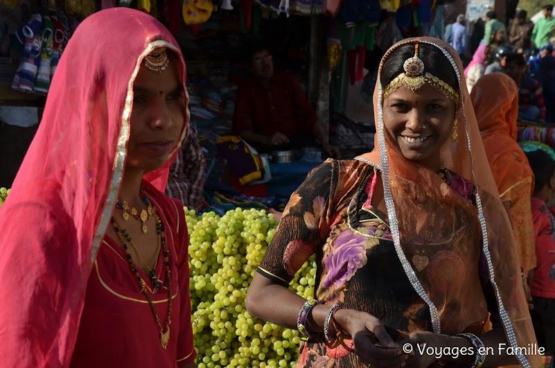 Femmes au marché - Jodhpur