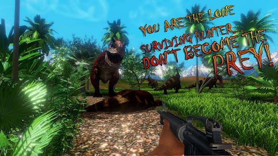 Wild Scary Jurassic Hunter - Dinosaur FPS Hunting - náhled