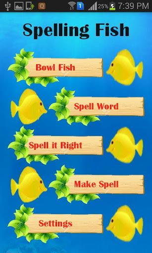 Spelling Fish