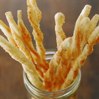 Crispy Italian Breadsticks.