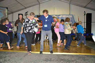 Photo: line dancing - De & Curt