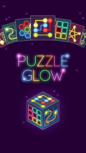 Puzzle Glow : Brain Puzzle Game Collection  captures d'écran 1