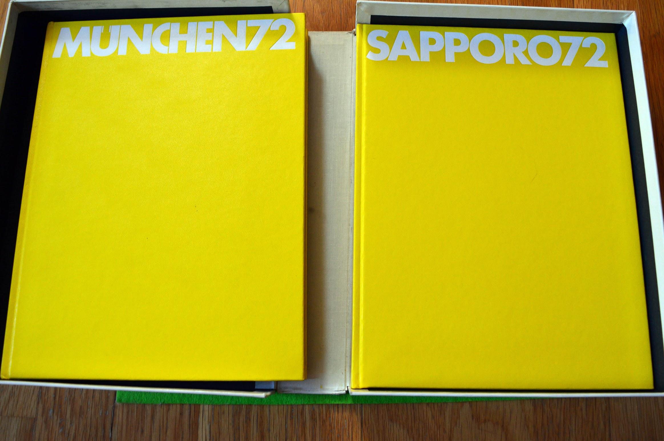 München und Sapporo - Olympische Spiele 1972 - Doppel-Bildband