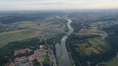 Photo: Pražský okruh, most přes Vltavu