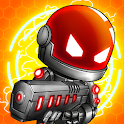 Neon Blasters Multiplayer Shooting Online icon