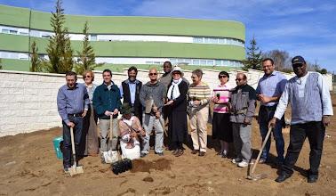 Photo: Plantación de árboles en el CITeS, 12-03-15 / Foto: IDJMP - Todos los Derechos Reservados CITES - Universidad de la Mística - Ávila- España http://www.mistica.es