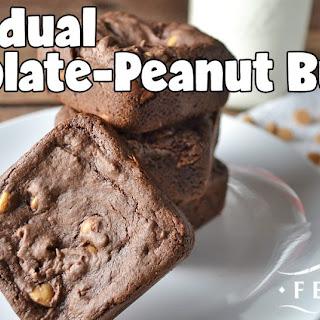 Chocolate-Peanut Butter Bars Recipe