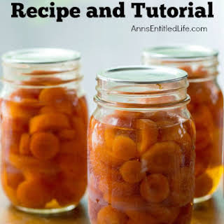 Cook Canned Carrots Recipes.
