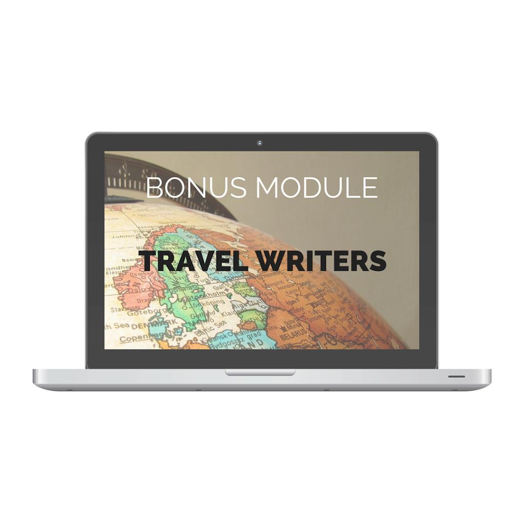 Travel Writers Bonus Module