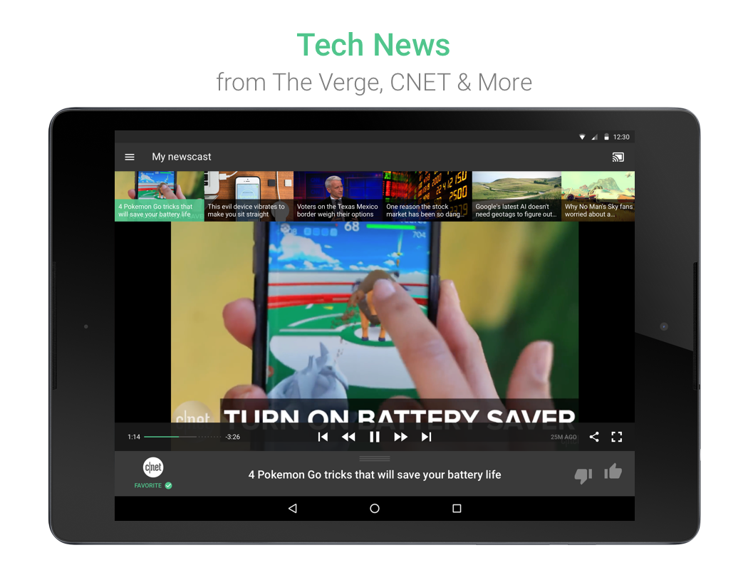 Watchup: Video News Daily- screenshot