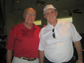 Photo: President Elect Blaine, and President Elect-Elect Dennis - April 18, 2009 - Past and Present Tournament Chairmen
