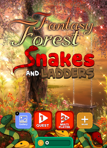 Snake Ladder: Fantasy Forest