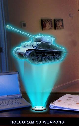 Holograms Guns Fire Simulator
