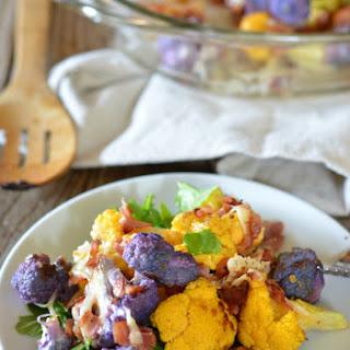Roast Cauliflower and Pancetta Gratin