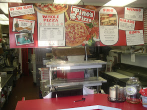 """Photo: 5am photo of whole shop cleaned up and everyone gone home till tomorrow!  This shop is my little engine that could. I can make pizza Fast and I can make it delicious.  I changed things up this year! I decided that all pizzas delivered will arrive with-in the hour to """"about"""" an hour. Last year deliveries ran up to 1 hour and 15 minutes. I took my payroll percentage from 18% to about 25% for this 2011 year! This added amount of kitchen masters & delivery drivers is costing me allot more, but it has made 2011 a delight,  seeing how much faster an order can get processed and into the hands of my wonderful HuNgRy Customers!!!  A friend told me, """"Jim, you are so obsessed about this and that and this and that etc.  Just make it really good, make it right, and get it there really fast. That is what will win the customer over. Speed is huge!""""      Please call my personal cell if there is a problem with your order! Call 410-422-4780.  Thank you, Jim Hofman   -owner/operator/pizza pie inspector for 18 years."""