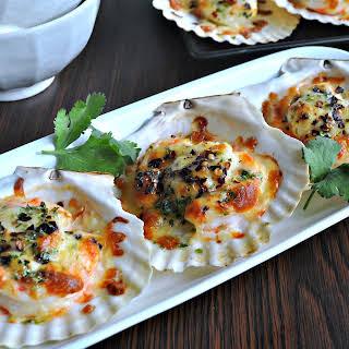 Hot & Spicy Cheese Scallops 热辣起司干贝.