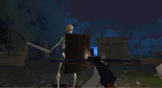 Graveyard - VR Cardboard screenshot 0
