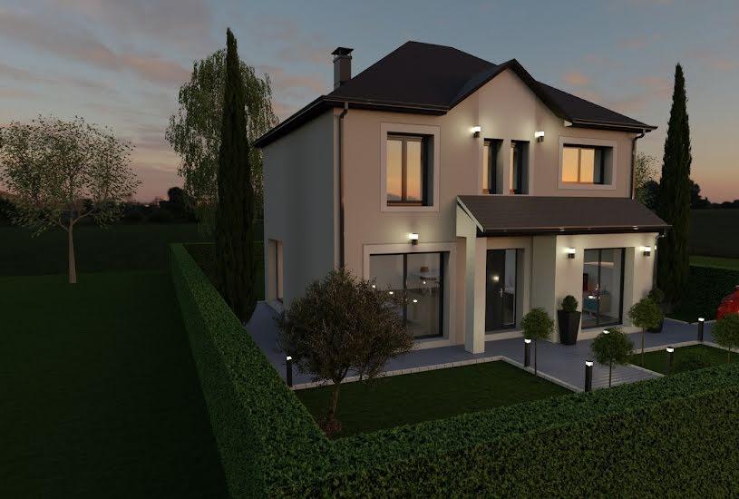 Vente Terrain + Maison - Terrain : 500m² - Maison : 105m² à Le Mesnil-Amelot (77990)