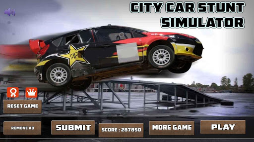 CITY CAR STUNT SIMULATOR